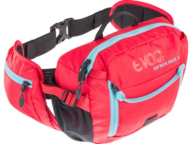 Evoc Hip Pack Race Backpack 3 L red-neon blue